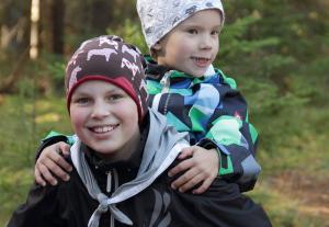 Tiia ja Samu. Kuva: Timo Kervinen